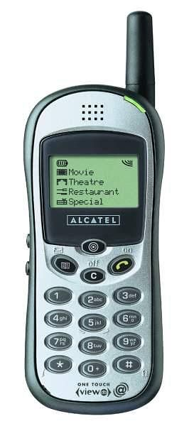 Alcatel OT VIEW DB W@P